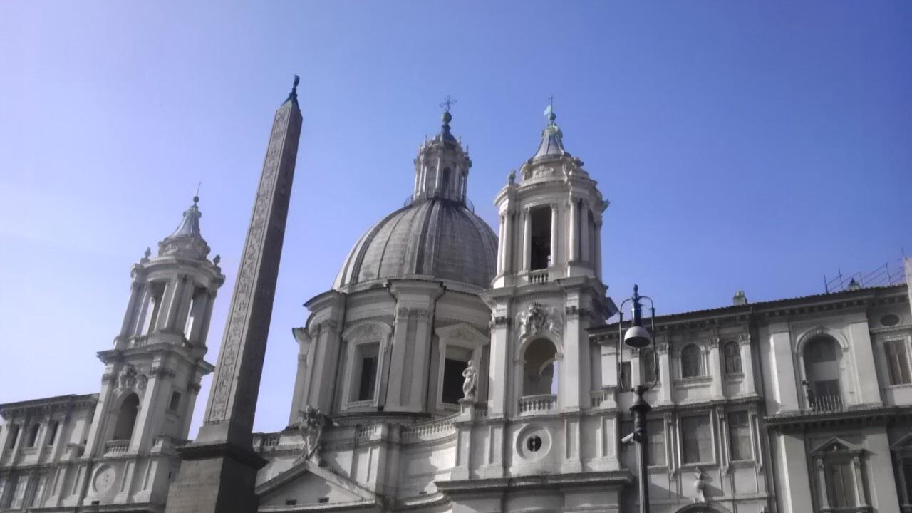 Chapel at Piazza Navona in Rome Italy