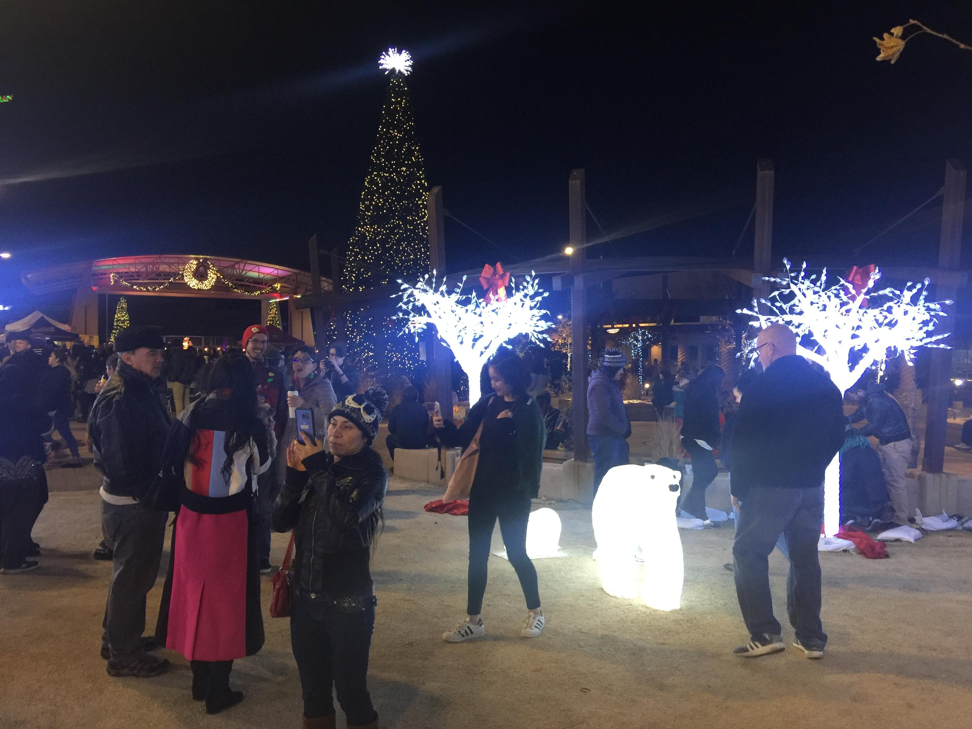 New Years 2018 at the Las Cruces Plaza