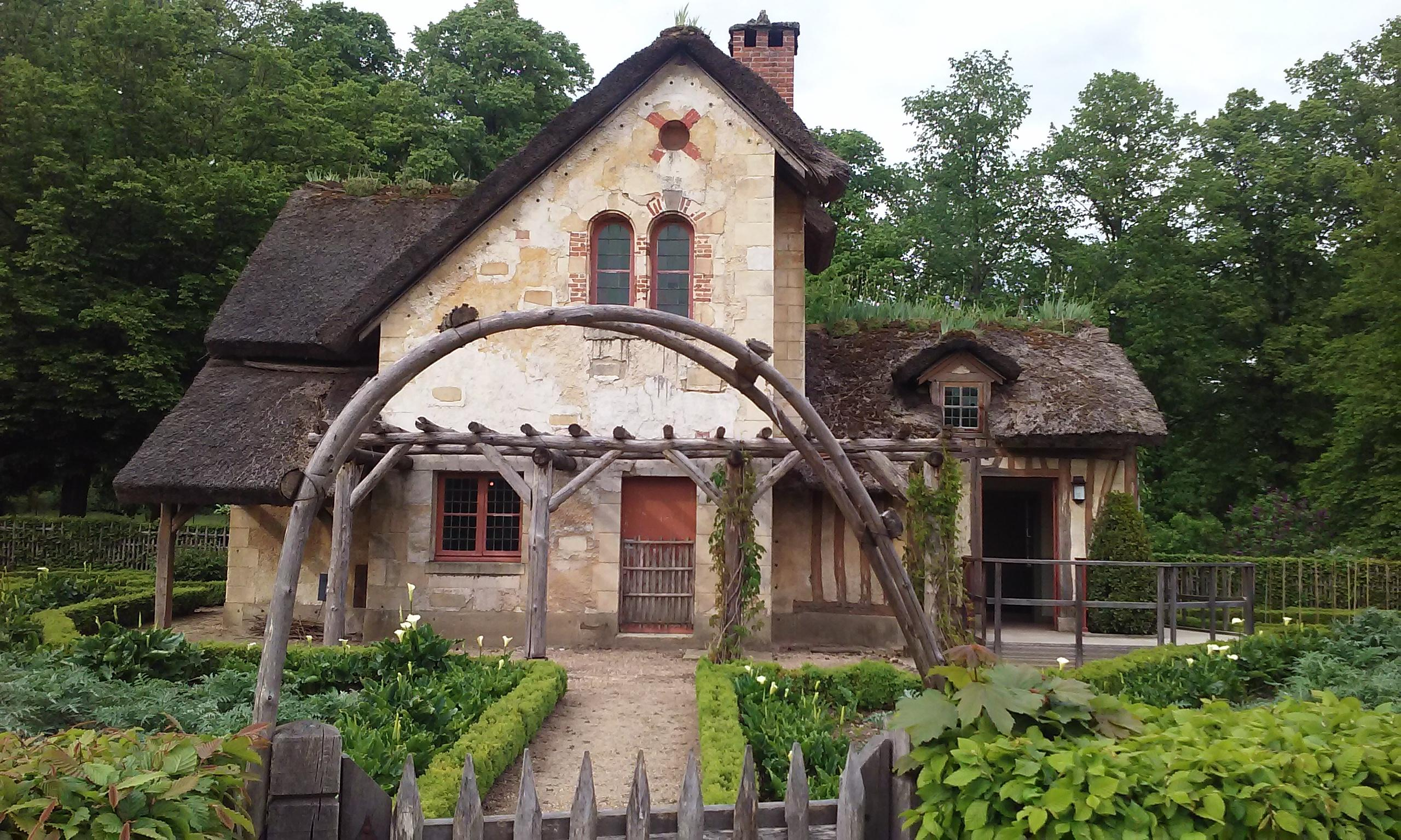 Marie Antoinette's English cottage at Versailles