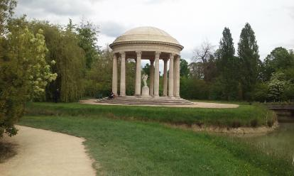 Gazebo at Versailles.