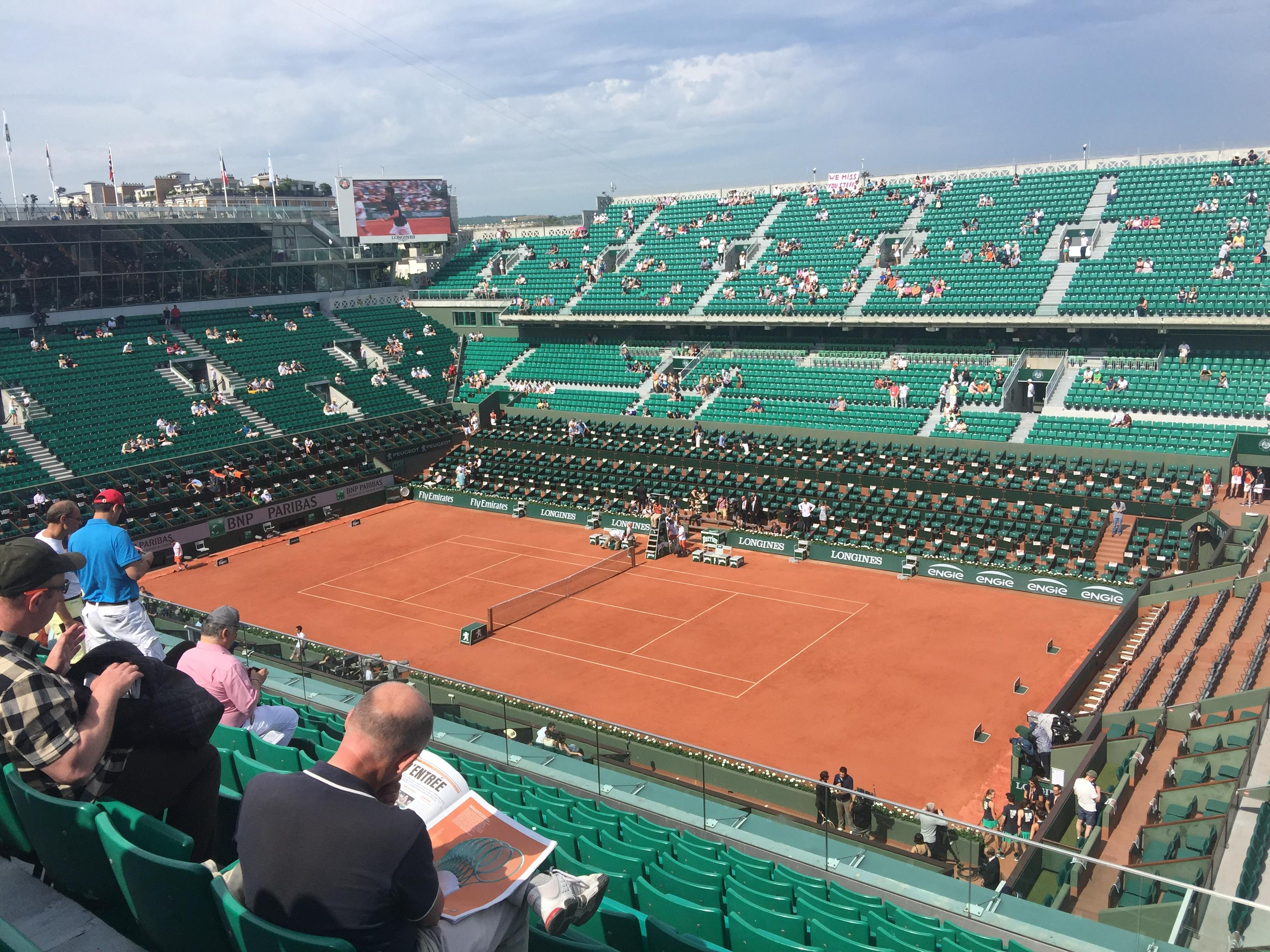 French Open at Roland-Garros 2017 Court Phillipe Chatrier