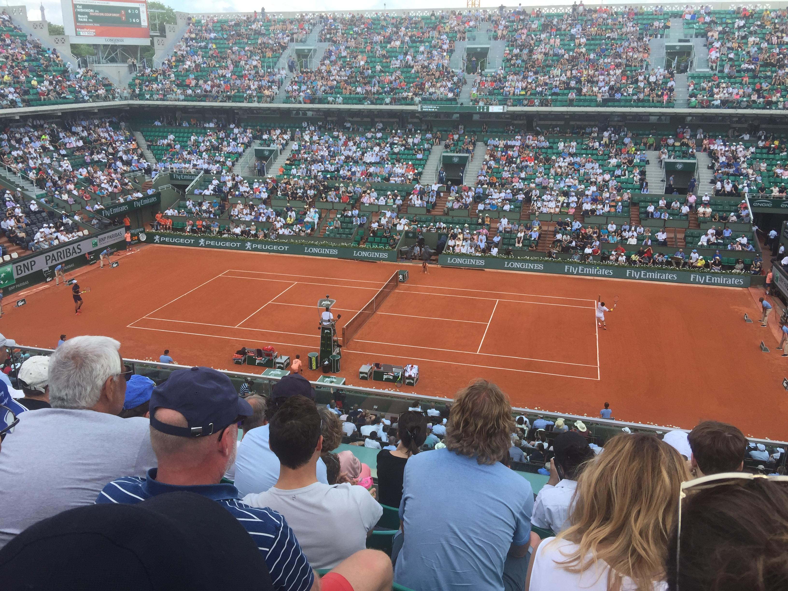 Round 1 French Open 2018