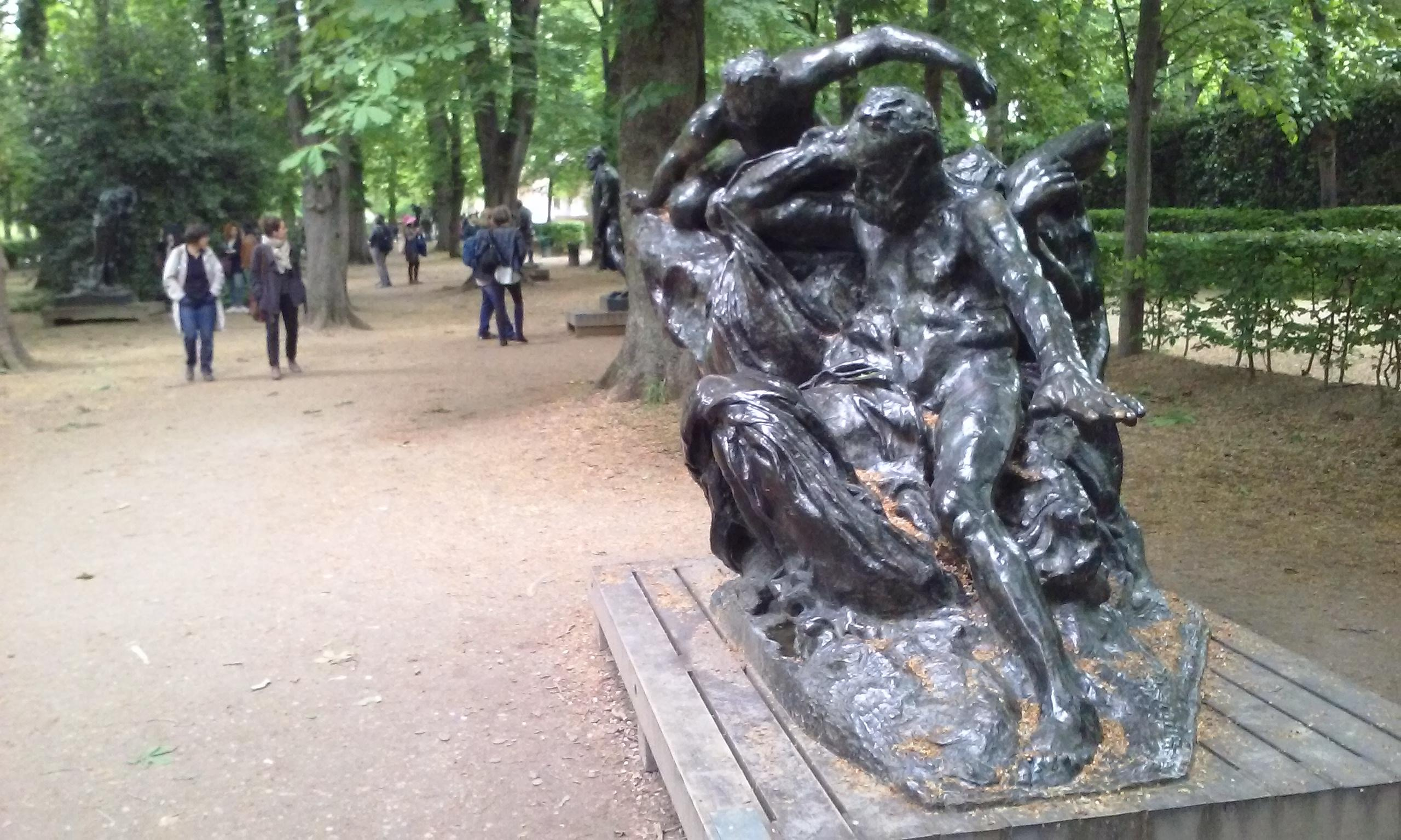 Musee Rodin. Many statues of Victor Hugo.