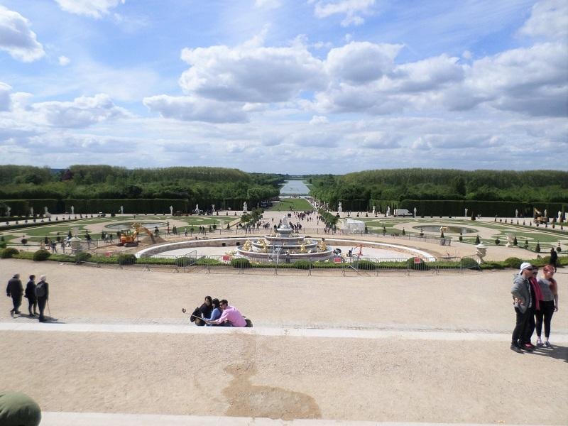Palace of Versailles Gardens Grand Canal