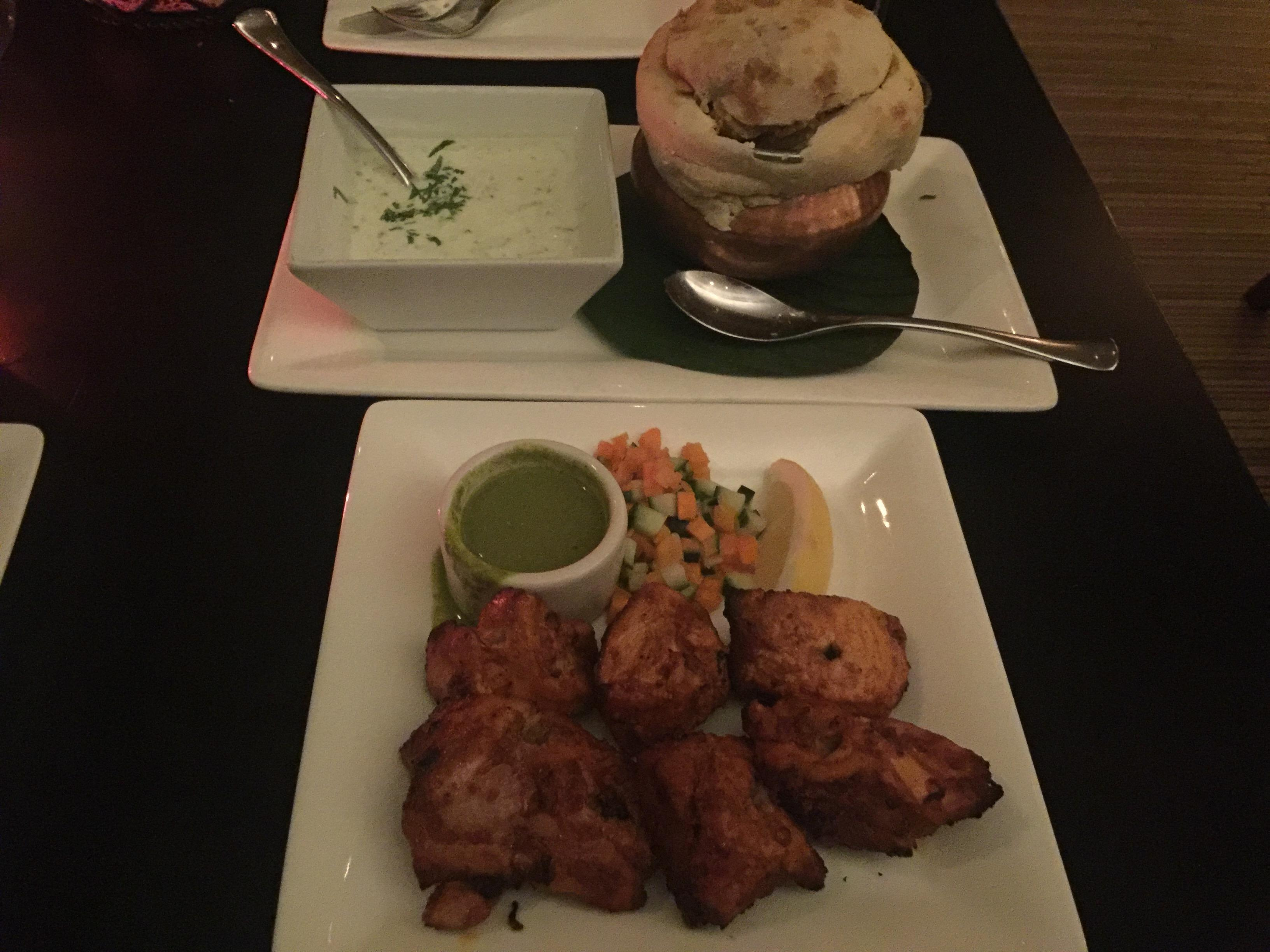 Chicken tikka at Rasika #food